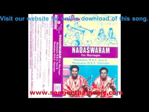 Nadaswaram For Marriage - Unjal video