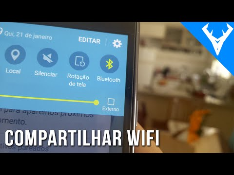 Como compartilhar internet por bluetooth no ANDROID - Único modo de dividir wifi