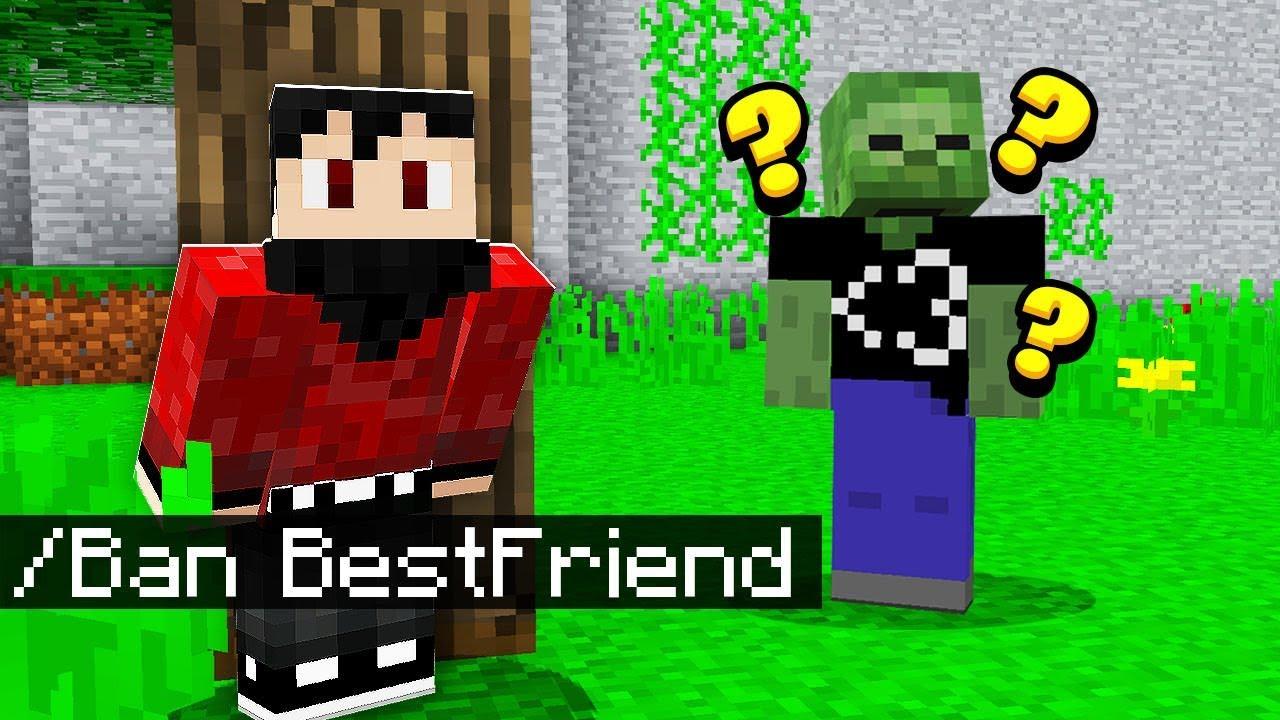 BANNING My Best Friend in Minecraft Pocket Edition.. (Realms SMP)