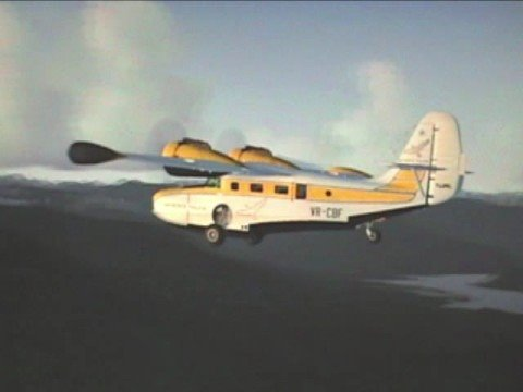 Cascade Mountains - A Flight Simulator Film (DX10)