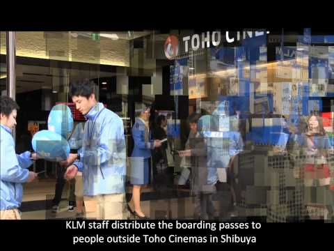 KLM Airline : KLM Airlines' 60th Anniversary Operations in Japan