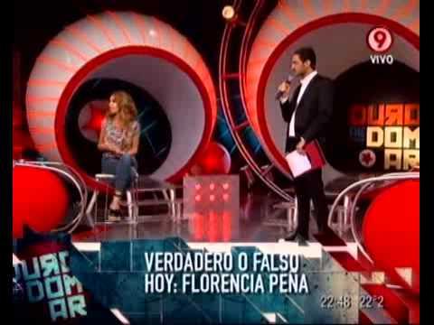 Verdadero o falso Florencia Pe ña (parte 2).