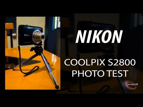 NIKON COOLPIX S2800 PHOTO TEST