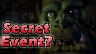 Warcraft 3 Secret Event Rumours