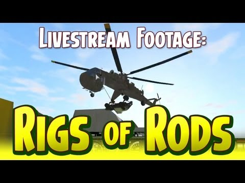 Rigs of Rods - Scotch Saturday Livestream Archive - October 13, 2012