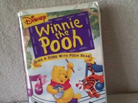 Pooh Vhs Vhs Tape Pooh Bear Sing a