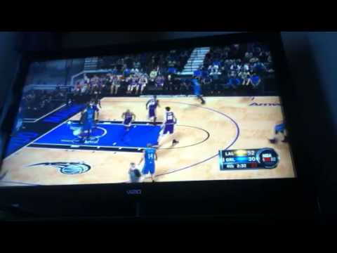 NBA 2k12 gameplay part 4