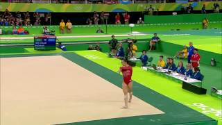 Aly Raisman (USA) - Rio 2016 - FX - Individual All-Around Final