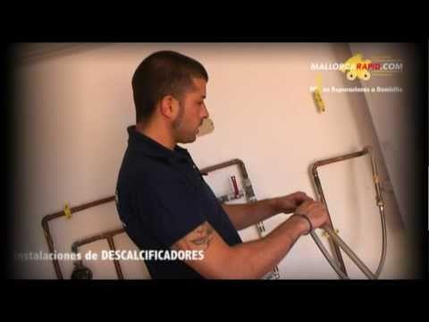 Instalaci n de m quina descalcificadora de agua en for Servicio tecnico roca palma de mallorca