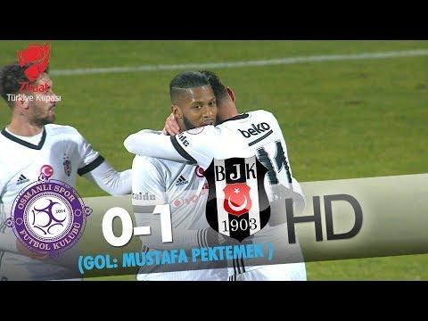 Osmanlıspor: 0 - Beşiktaş: 1 | Gol: Mustafa Pektemek