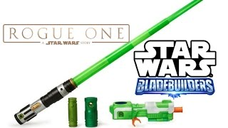 Star Wars Rogue One | Blast Tech Lightsaber Review | Blade Builders Build your own lightsaber kit