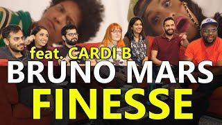 Download Lagu Group Reaction - Bruno Mars - Finesse feat. Cardi B. Gratis STAFABAND