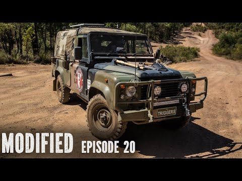 Land Rover Defender 110, modified episode 20