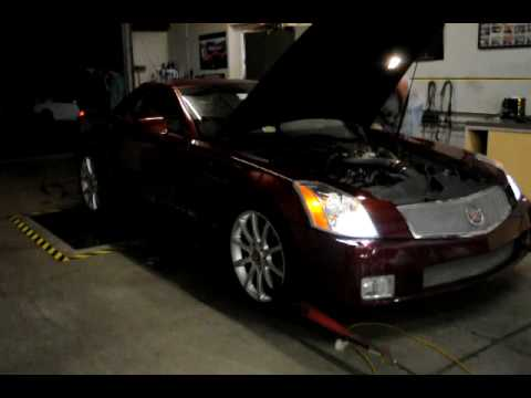 2006 Cadillac XLR-V Dyno Supercharged Video