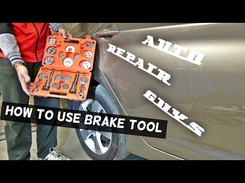 HOW TO USE BRAKE CALIPER PISTON TOOL