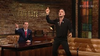 Robbie Williams knows how to make an entrance! | The Late Late Show | RTÉ One