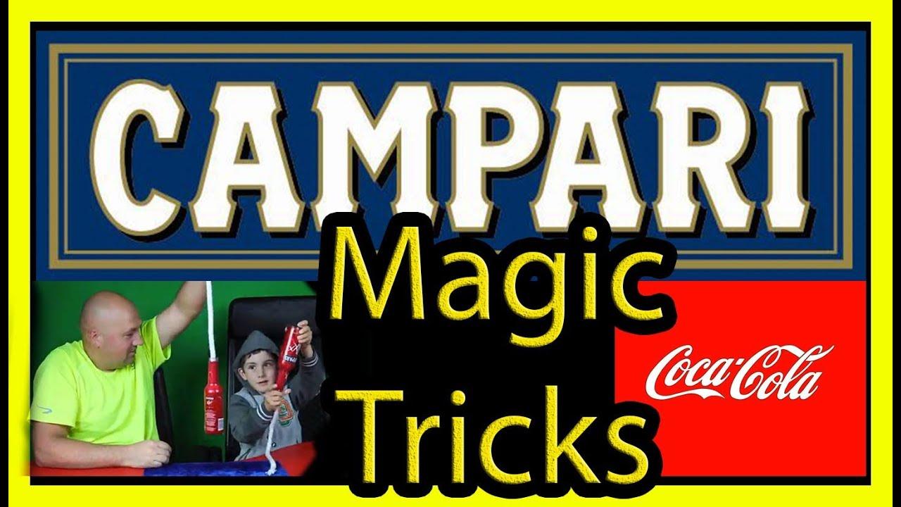 genie in a bottle cocacola tutorial campari magik tricks