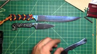 Bluefin Tuna Custom Ti Knife