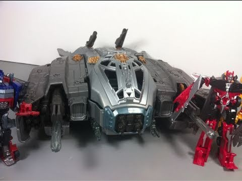 Transformers 3 DOTM Movie Autobot Ark Playset with Roller Cyberverse Review