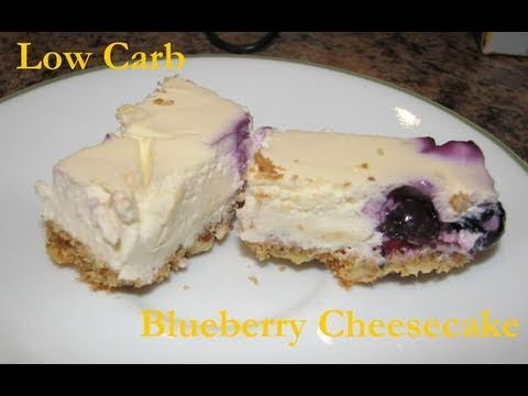 Atkins Diet  Recipes: Low Carb Cheesecake Squares (IF*)