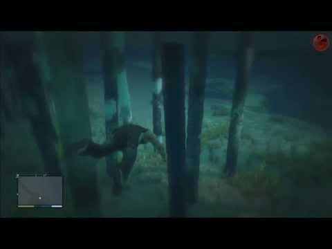 GTA V : Scuba diving gameplay (plongée sous marine)