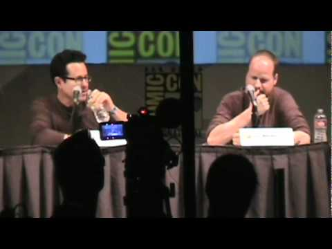 Comic-Con 2010 Joss Whedon & J. J. Abrams Panel Part 1