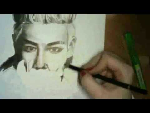 Top Bigbang Drawings Top Big Bang Speed Drawing