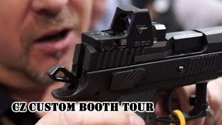 CZ Custom Booth Tour w Angus Hobdell SHOT Show 2016