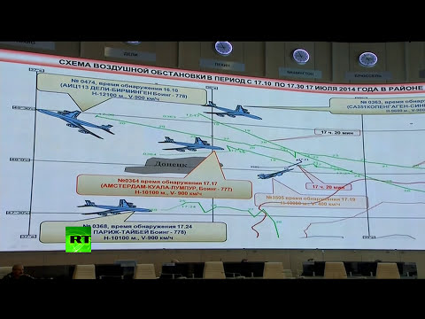 'Why did Ukraine SU-25 fly same path as MH17, simultaneously at same altitude?' - Russian Military
