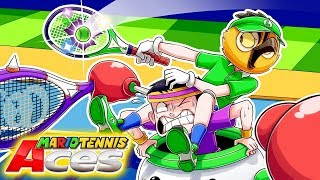 VANOSS PLAYS MARIO KART & TENNIS FOR THE 1ST TIME!