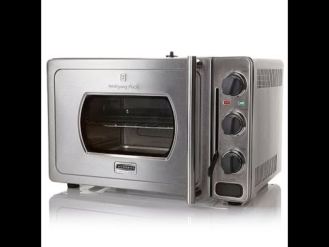 Wolfgang puck rapid pressure oven youtube for Wolfgang puck pressure oven
