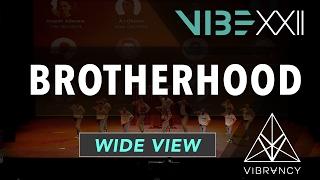 [1st Place] Brotherhood | VIBE XXII 2017 [@VIBRVNCY 4K] #vibedancecomp