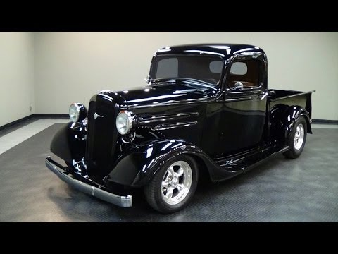 1936 Chevrolet Street Rod Pickup Truck V8 Music Videos