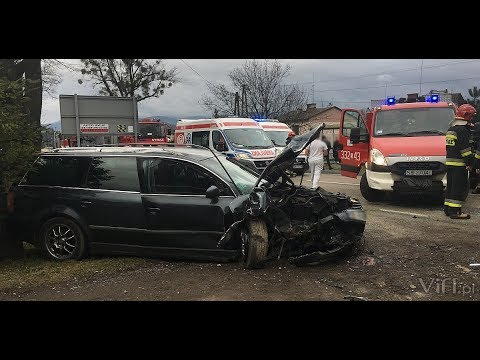 Śmiertelny Wypadek W Pogórzu - 28 Grudnia 2017 R.