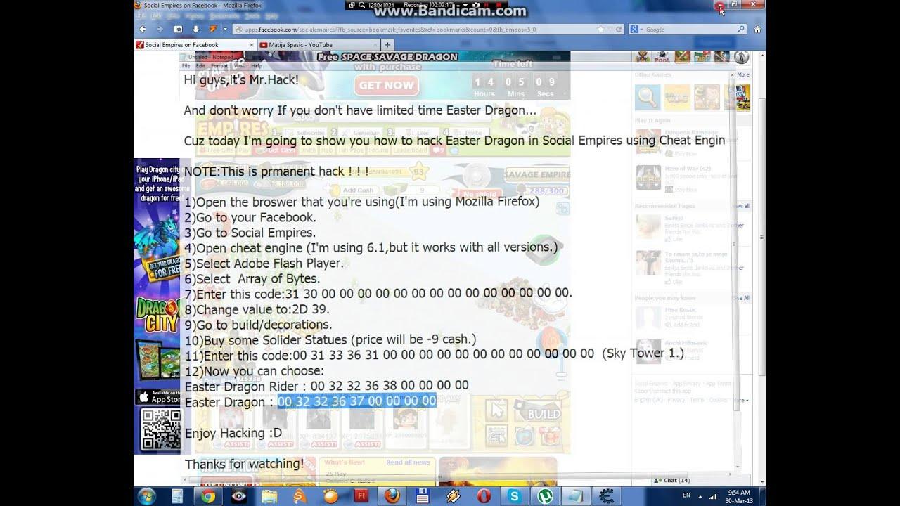 Social Empires Dragon Codes Social Empires Easter Dragon