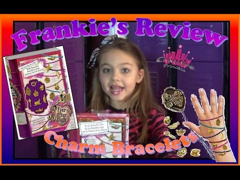 Ever After High   Monster High - Frankie's Review 'Wish Bracelet Kit'- Creative Princess