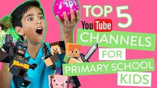 Top 5 YouTube Channels For Primary Kids | Channel Mum Loves