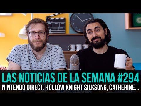 ¡La semana en 10 min 294 Nintendo Direct Hollow Knight Silksong Catherine  Body