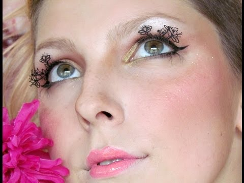 Halloween: Květinová víla / Flower Fairy Makeup Tutorial