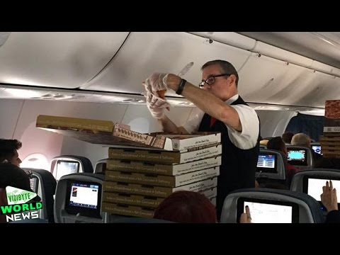 Delta Pilot Orders Pizza for Delayed Flight