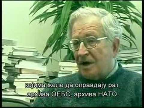 Noam Chomsky About Serbia, Kosovo, Yugoslavia and NATO War 1