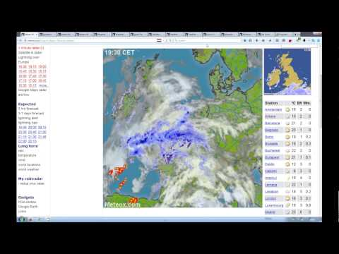 4.5.2015 Haarp weather NWO wetter France Fake storms daily