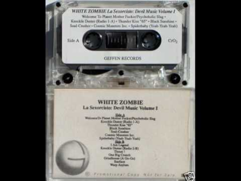 White Zombie - Welcome To Planet M.F./Knuckle Duster 1-A/Thunderkiss '65 RARE EARLY PROMO!!!
