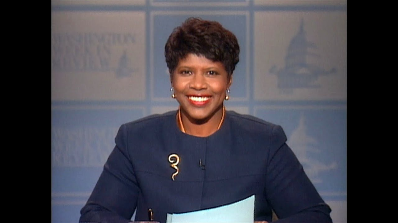 From the Washington Week Vault: Gwen Ifill39;s first night as moderator