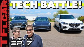 Is Tesla Tech Actually Better? Hyundai vs Tesla vs BMW | We Dive Deep To Find Out - Thrifty 3 Ep.7