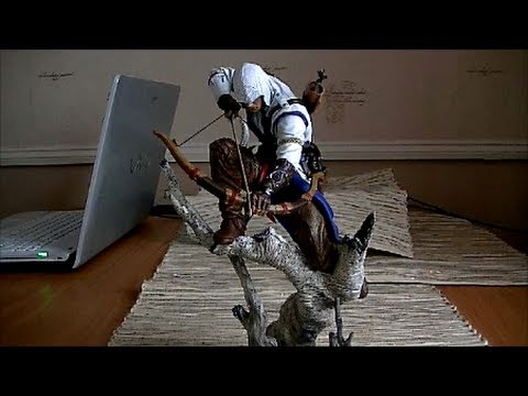 Assassin's Creed 3 Statue (Connor : The Hunter) Review