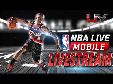 BRAND NEW BLACKTOP MODE IN NBA LIVE MOBILE?!?! LIVE REACTION! NBA LIVE MOBILE LIVE PACK OPENING