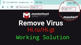 How to Remove Hi.gt & Hi.ru Homepage From Chrome Browser   Working Mathed