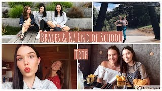 GETTING BRACES & END OF SCHOOLING NZ HOLIDAY (WEEK 1)