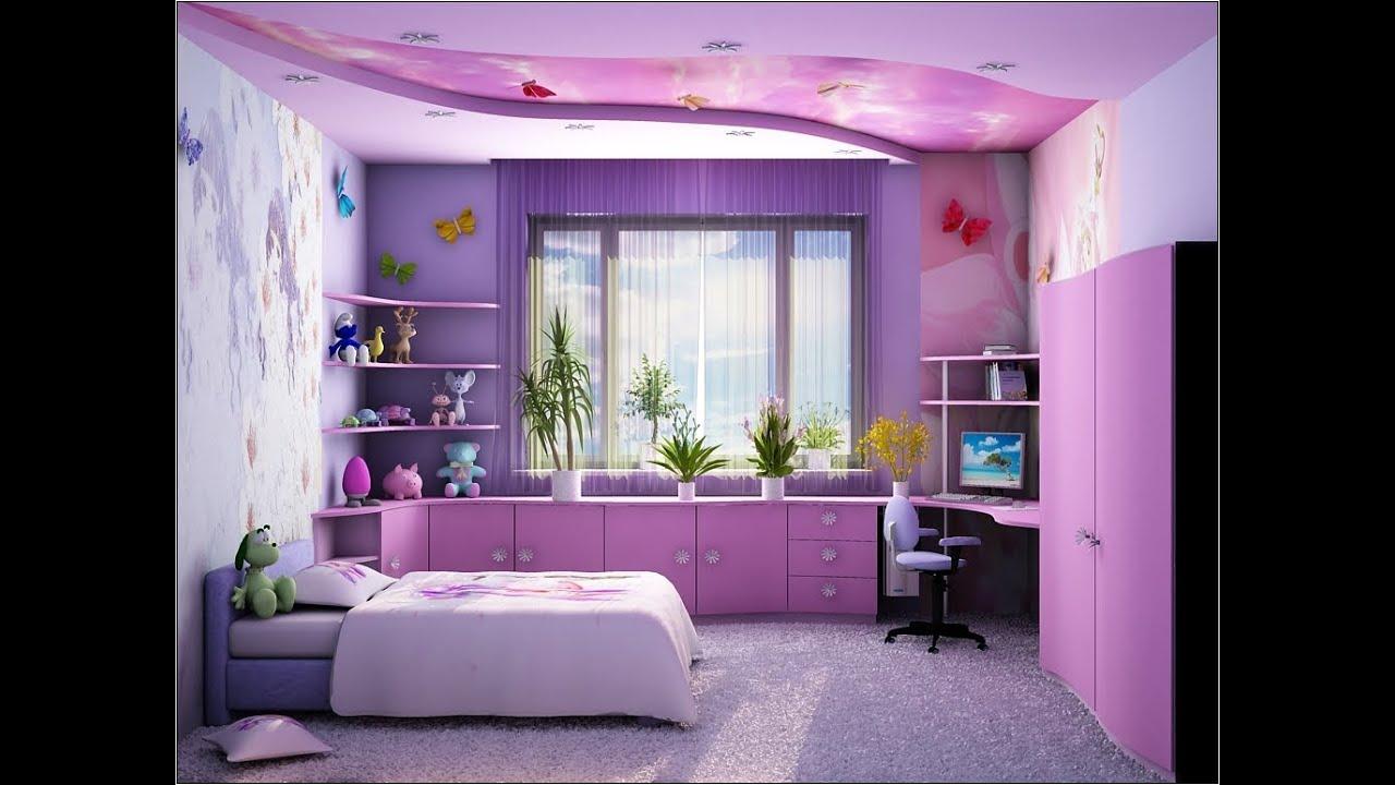 Детская комната для девочки : ремонт, 75 фото идей дизайна 72